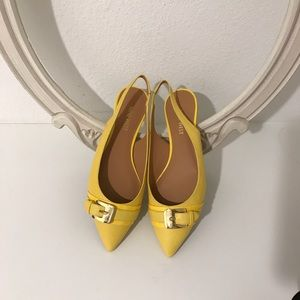 Shoes - Brand NEW! Nine West Neon Yellow flats
